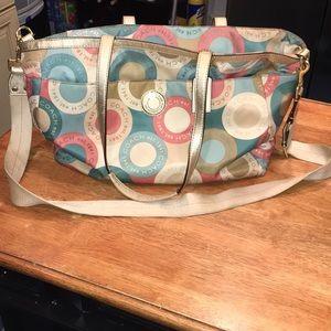 Authentic coach diaper bag EUC