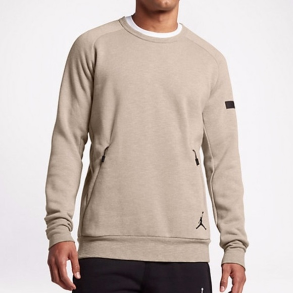 b60d70bb037b42 Air Jordan Icon Fleece Crew Sweatshirt Size XLT