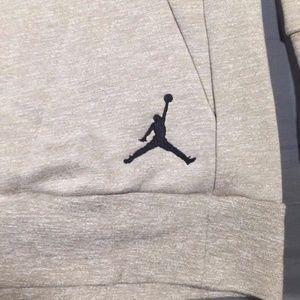 5dd2a3d7e34757 Nike Sweaters - Air Jordan Icon Fleece Crew Sweatshirt Size XLT