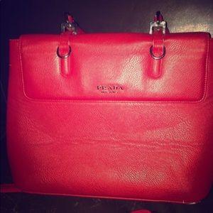 Prada top handle purse