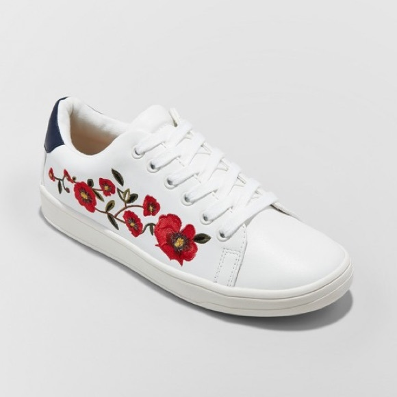 "Target ""A New Day"" Embroidered Sneakers."