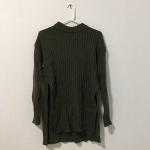 Tobi Olive Sweater