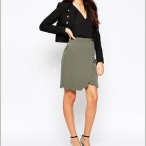 ASOS scallop skirt