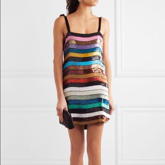 cb4c51bf ATTICO Dresses & Skirts - Attico sequined Sabrina dress