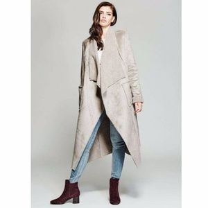 Merciano Trisha faux shearling coat