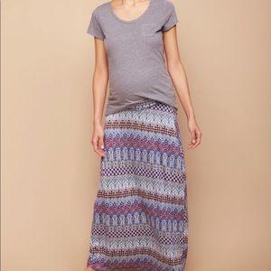 Maxi skirt - maternity