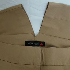 Lane Bryant Career Flare Dress Pants 4 Tall 20