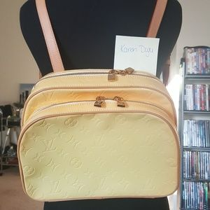 Authentic Louis Vuitton Murry vernis backpack