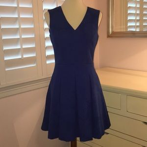 Banana Republic Blue Sleeveless Dress