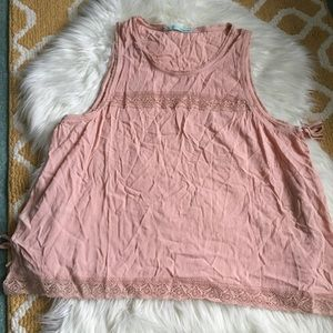 pink maurices tank size XL