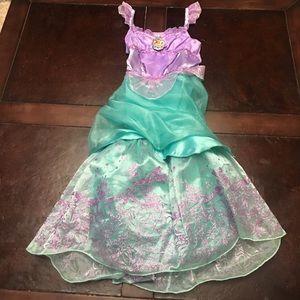 Disney Ariel SZ 5/6 Small Dress Up Costume