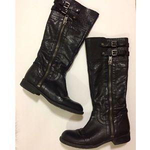 Franco Sarto Poet Boots Size 8
