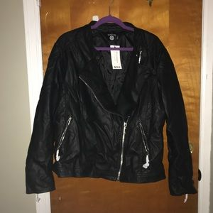 2bb1889a082a6 Boohoo Plus Jackets   Coats - Boohoo plus size Eliza Quilted Faux Leather  jacket