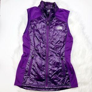 North Face Purple Flight Series Vest