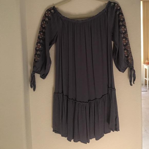 Xhilaration Dresses & Skirts - Purple off the shoulder dress