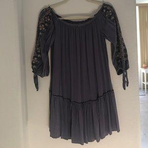 Xhilaration Dresses - Purple off the shoulder dress