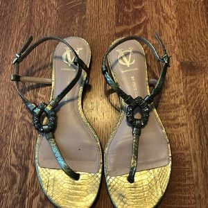 Lot of 3 trendy sandals. Priced to sell!!