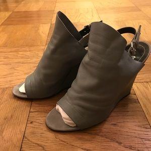 Balenciaga Sling Back Wedge Heels