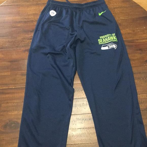 ff925db0 Seattle Seahawks men's nike pants