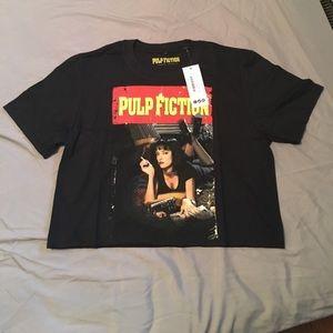 Pulp Fiction Crop Tee
