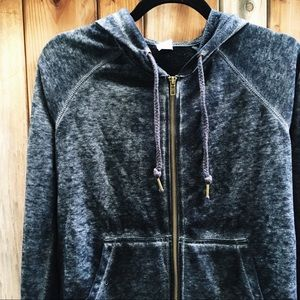 Tops - acid wash hoodie