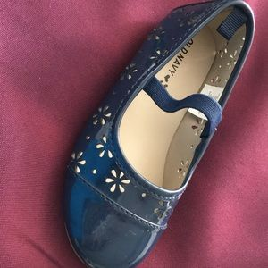 New Old Navy Patton blue flower shoes size 9