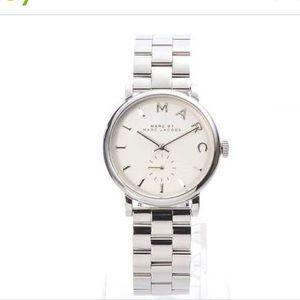 Marc Jacobs silver watch. READ DESCRIPTION.
