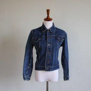 Jean Jacket Small 1970s Vintage