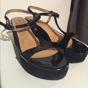 35b1720aaa59f Ciao Bella Shoes - CIAO BELLA Black Platform Sandals