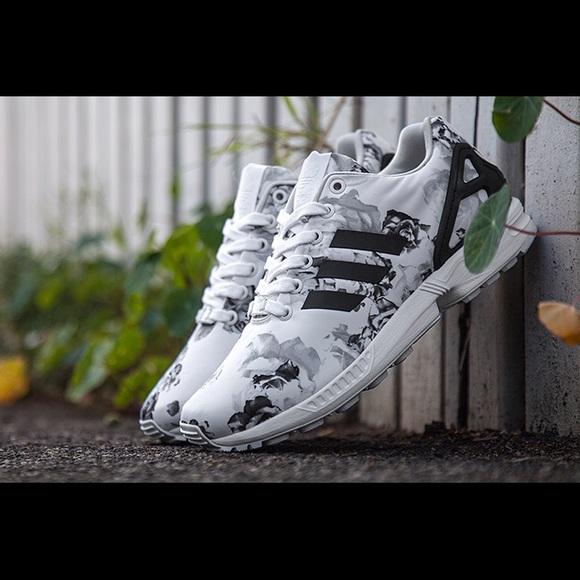 75% Le Adidas Adidas Zx Del Bianco E Nero Da Flora