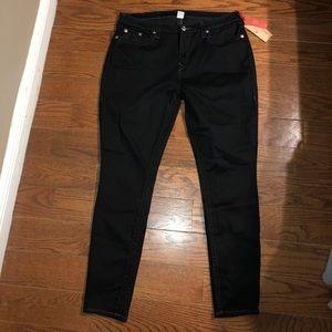 True Religion Curvy Skinny Pants sz 38