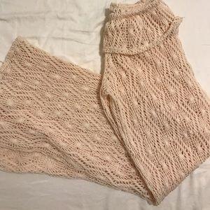 Lace beach pants