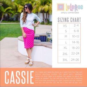 LuLaRoe Skirts - Cassie Pencil Skirt- LulaRoe NWT