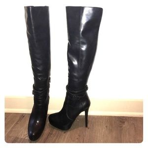 5560ab42b95 Sexy ALDO black over knee boots