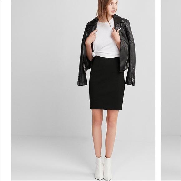 0446c650f933 Express Dresses   Skirts - Express- High Waisted Pintucked Pencil Skirt