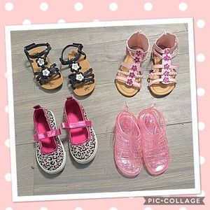Other - Bundle toddler girl sandals, like new!