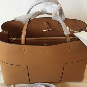 ee80e57f324 Tory Burch Bags - NWT Tory Burch Authentic Block T Triple Tote