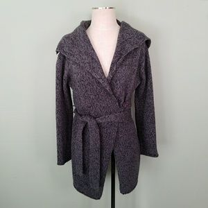 The Limited Wool Wrap Cardigan Sweater