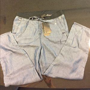 Armani exchange A X ankle jean jogger pants