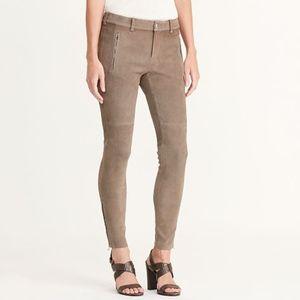 🆕 Ralph Lauren Suede Snuff Skinny Pant