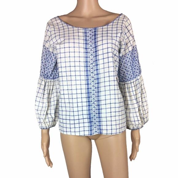 5345dbf0ba9 ... Diana bell sleeve cotton top. M 5a0b83a841b4e019540123c7