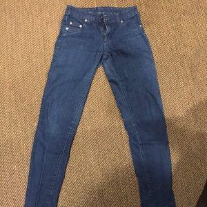 LF carmar denim skinny jeans