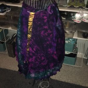 Dresses & Skirts - Adjustable Indian wrap skirt