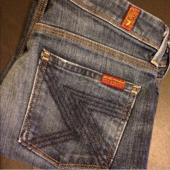 """7 For All Mankind Denim - 7 For All Mandkind """"Flynt"""" Boot Cut Jeans"""