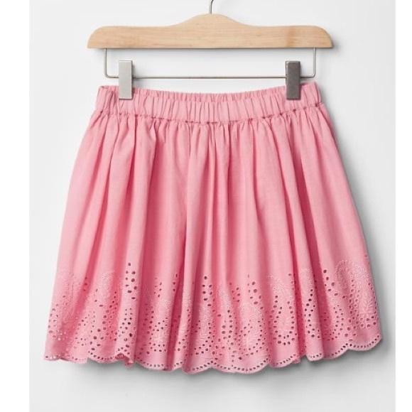 1fdb16c664 GAP Bottoms | Kids Eyelet Flippy Skirt | Poshmark