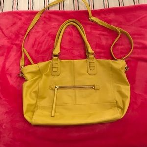 H&M Yellow Satchel