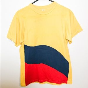 Vintage 80's Color Block Tee