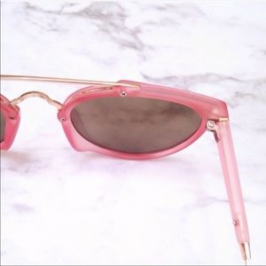 Aly Posh Boutique Accessories - Pink Mirror Sunnies
