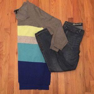 Lane Bryant Color Blocked Sweater