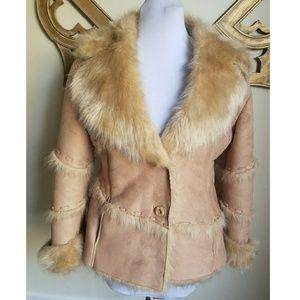 TALLY Ho faux shearling jacket